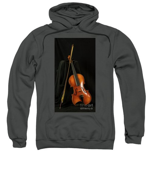 Violin And Bow Sweatshirt