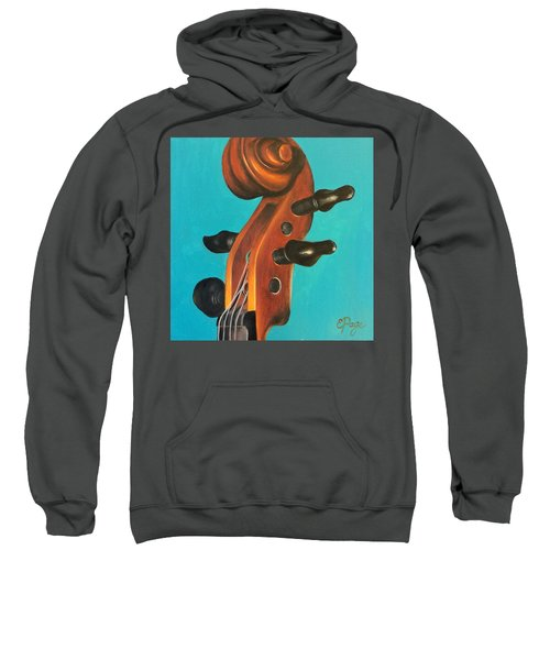 Violin Head Sweatshirt
