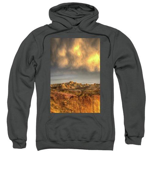 Virga Over The Badlands Sweatshirt