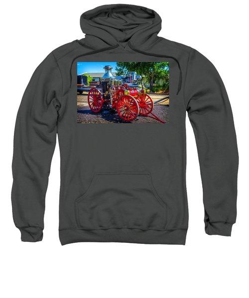 Virgina City Fire Wagon Sweatshirt