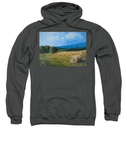 Virginia Hay Bales II Sweatshirt