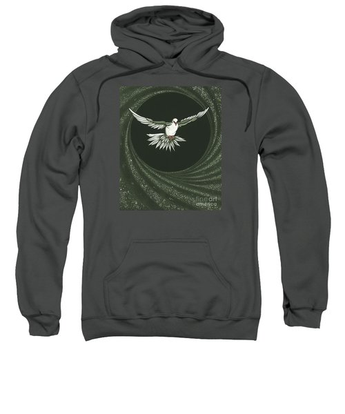 Viriditas-holy Spirit Detail Sweatshirt