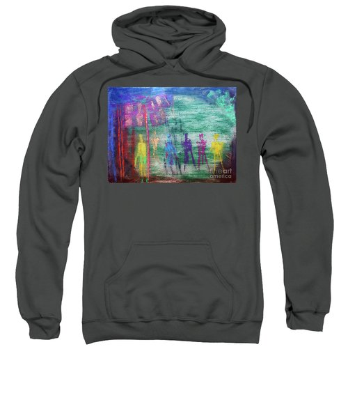 Visions Of Future Beings Sweatshirt