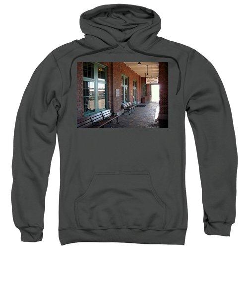 Visitors Center Train Station Sweatshirt