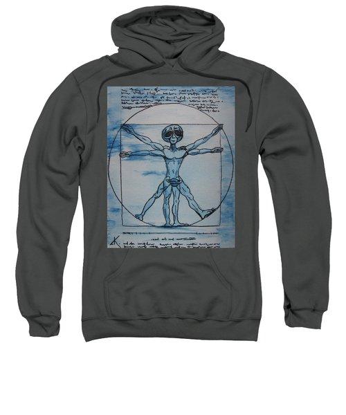 Vitruvian Alien Sweatshirt