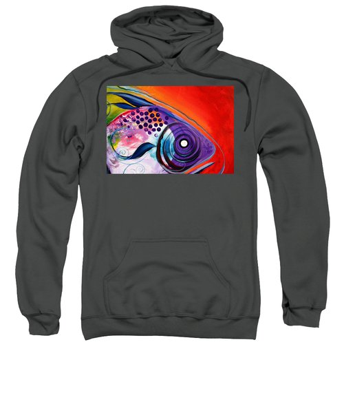 Vivid Fish Sweatshirt