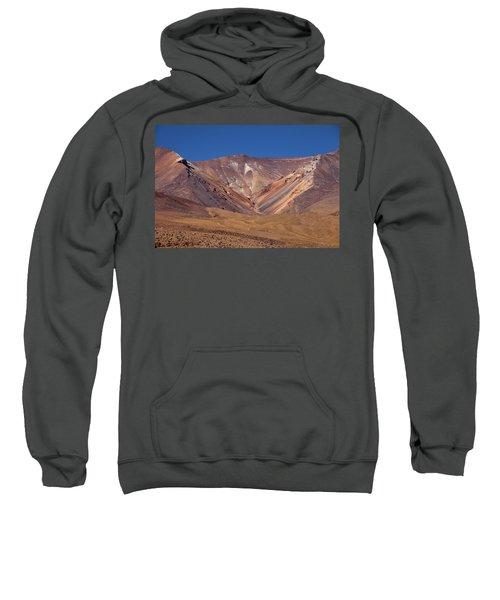 Volcano Crater In Siloli Desert Sweatshirt