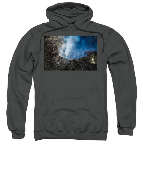 Another View Of The Kalauea Volcano Sweatshirt