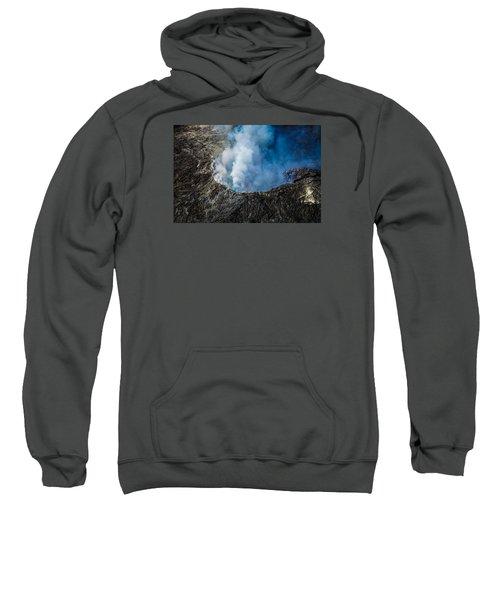Another View Of The Kalauea Volcano Sweatshirt