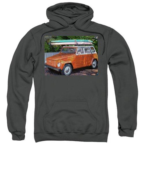 Volkswagen And Surfboards Sweatshirt
