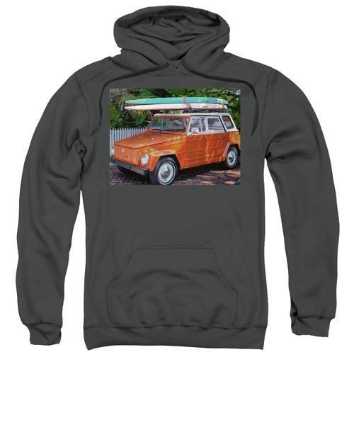 Volkswagen And Surfboards Sweatshirt