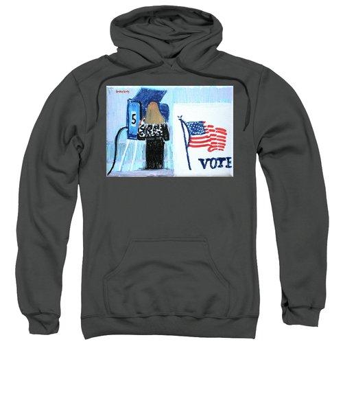 Voting Booth 2008 Sweatshirt