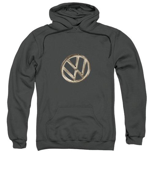 Vw Car Emblem Sweatshirt by YoPedro