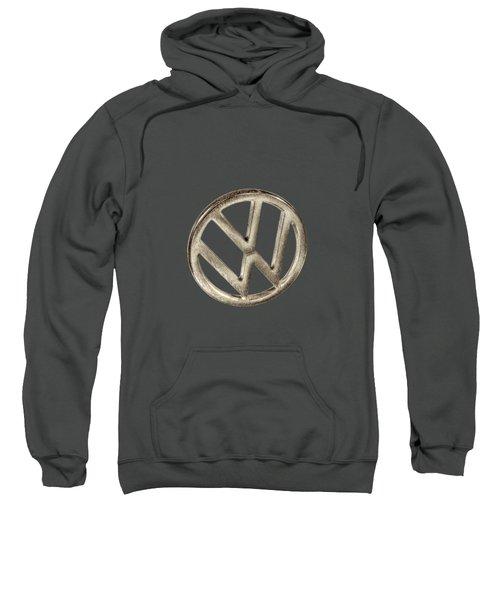 Vw Car Emblem Sweatshirt