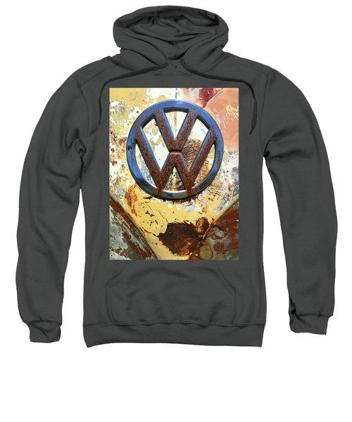 Vw Volkswagen Emblem With Rust Sweatshirt