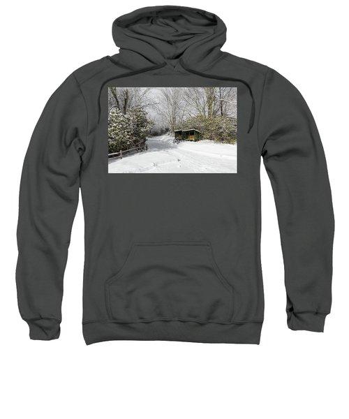 Wagon Wheels And Firewood Sweatshirt