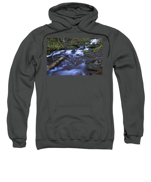 Wahkeena Creek Bridge # 5 Signed Sweatshirt