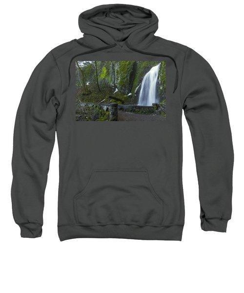 Wahkeena Falls Bridge Sweatshirt