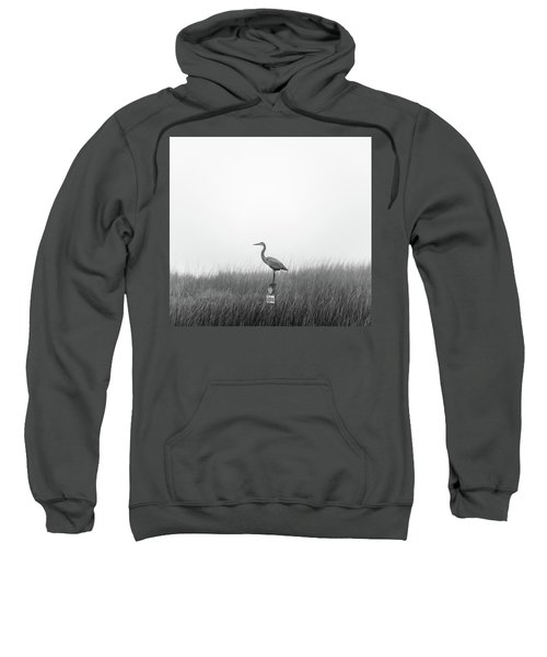 Waiting On The Fog To Clear Sweatshirt