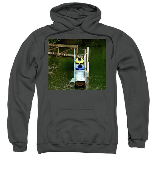 Waiting To Kayak Sweatshirt