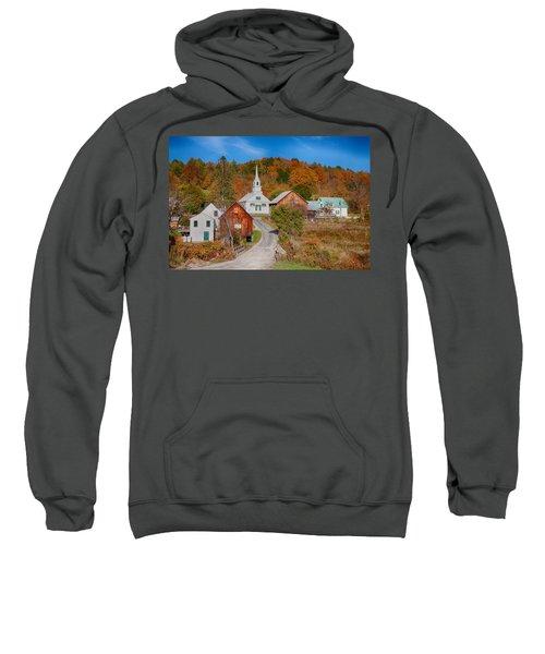 Waits River Church In Autumn Sweatshirt