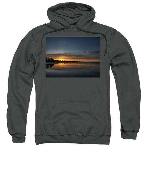 Waking To A Cold Sunrise Sweatshirt