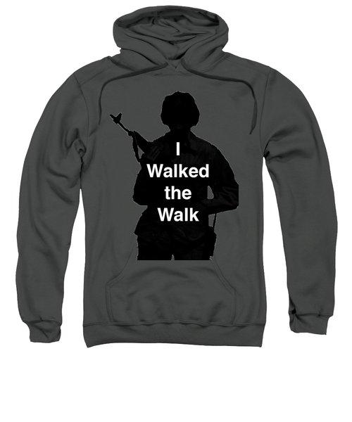 Walk The Walk Sweatshirt by Melany Sarafis