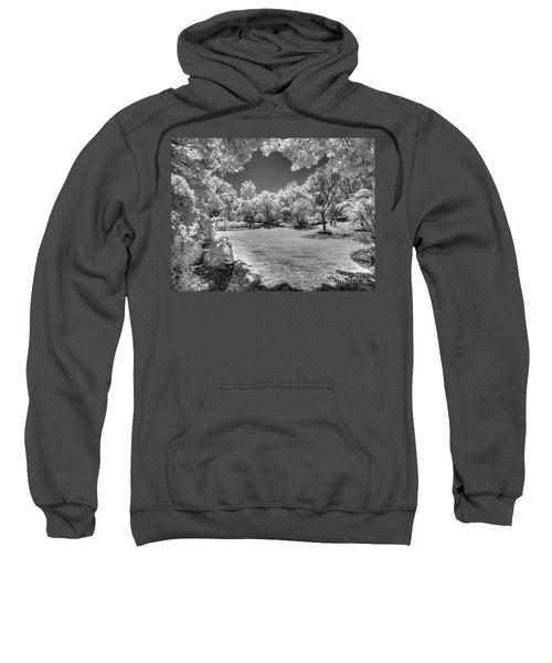 Walking In Clark Gardens Sweatshirt