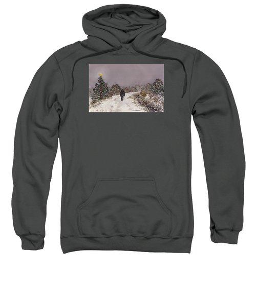 Walking Into The Light Sweatshirt