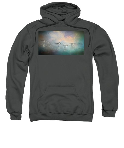 Walking Into The Sunset Sweatshirt by Marvin Spates