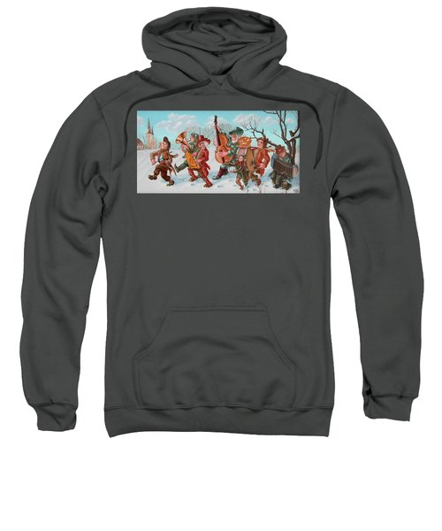 Walking Musicians Sweatshirt