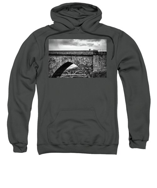 Walking On The Roman Bridge Sweatshirt
