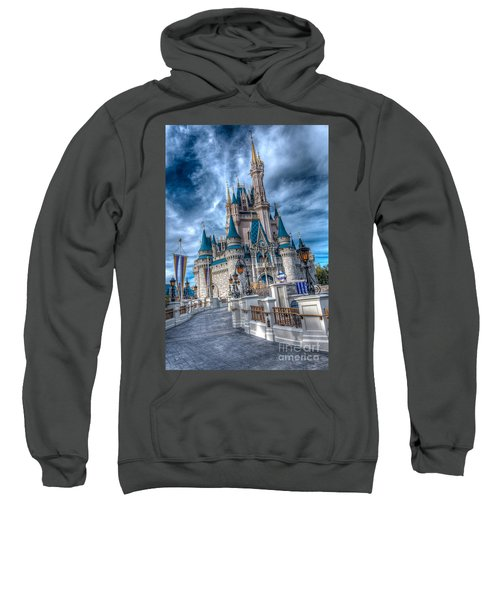 Walkway To Cinderellas Castle Sweatshirt