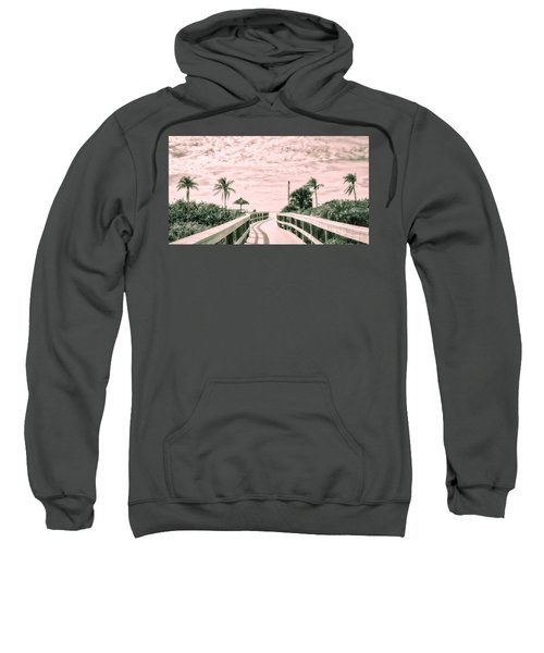 Walkway To The Beach Sweatshirt