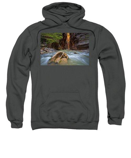 Wall Street Of The Narrows Sweatshirt
