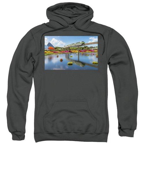 Walt Disney World Epcot Flower Festival Sweatshirt