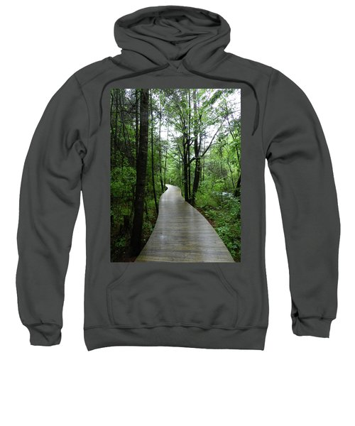 Sweatshirt featuring the photograph Wang Lang Nature Reserve, China by Breck Bartholomew