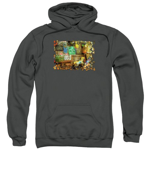 Warning Building Unsafe Sweatshirt