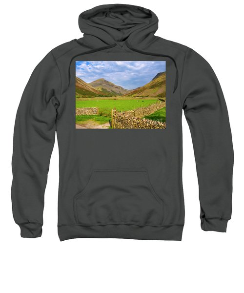 Wasdale Head And Great Gable From Wasdale Head Sweatshirt