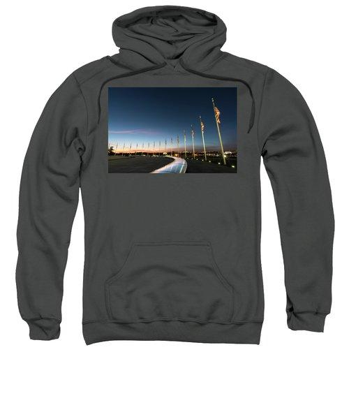 Washington Monument Flags Sweatshirt