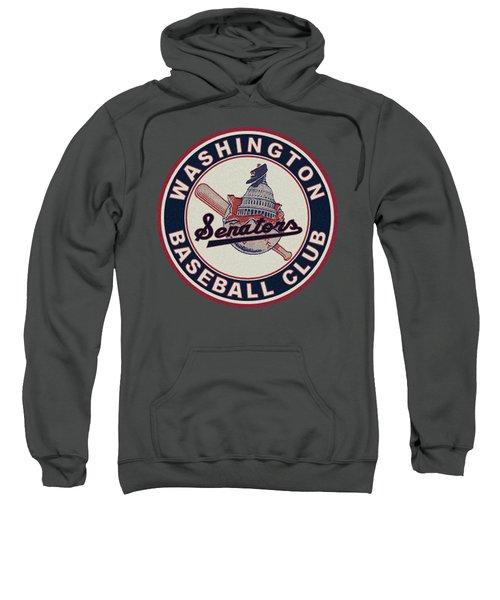 Washington Senators Retro Logo Sweatshirt