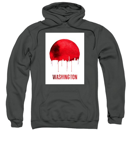 Washington Skyline Red Sweatshirt