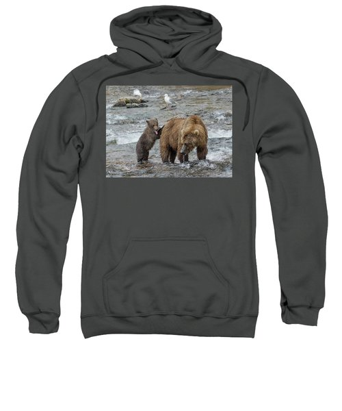 Watching For The Sockeye Salmon Sweatshirt