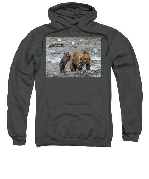Watching For The Sockeye Salmon Sweatshirt