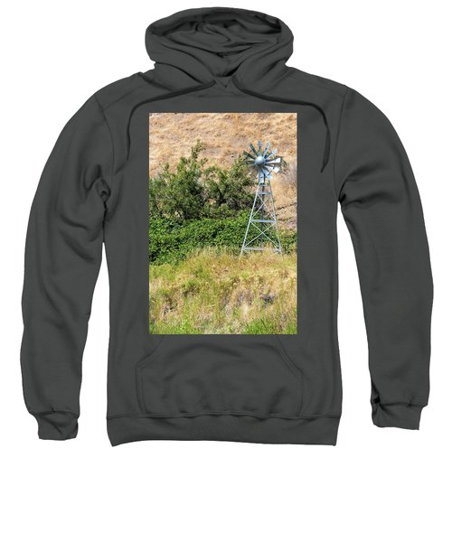Water Aerating Windmill For Ponds And Lakes Sweatshirt