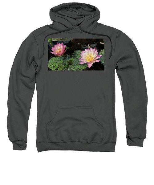Water Lily Pair Sweatshirt