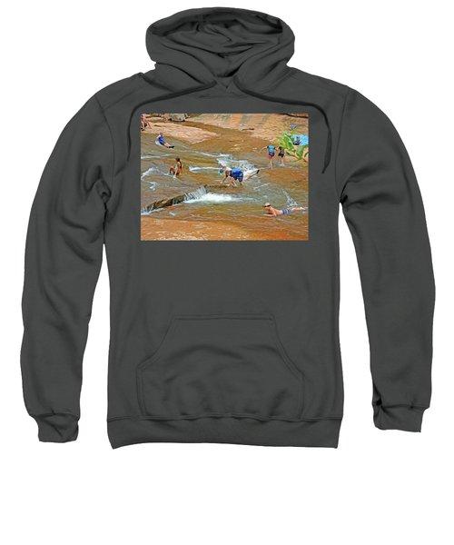 Water Play 3 Sweatshirt