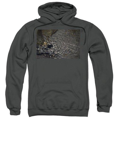 Sweatshirt featuring the photograph Black Hole by Yulia Kazansky