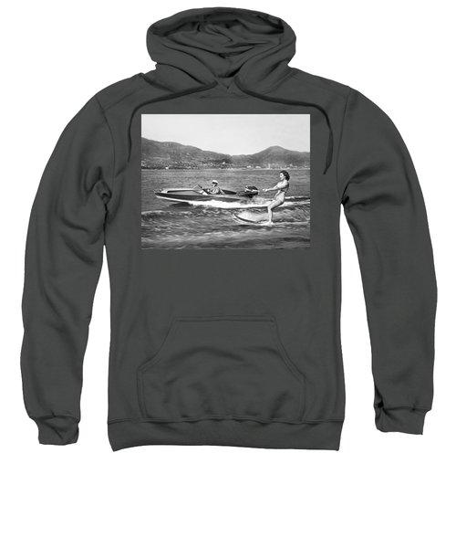 Water Skiing In Acapulco Sweatshirt