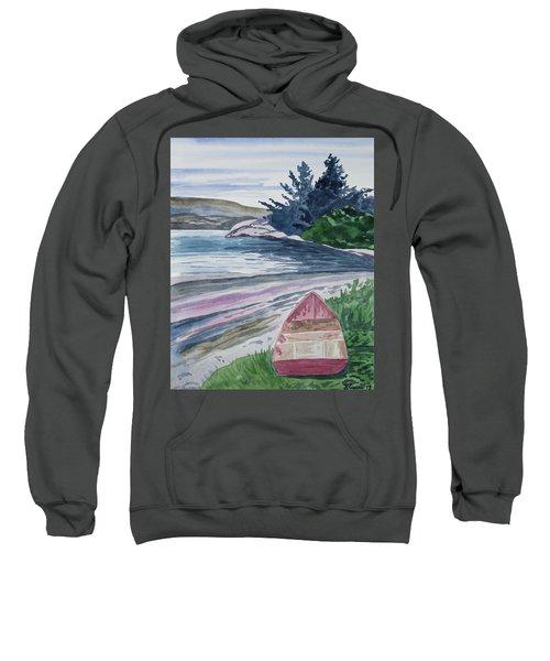 Watercolor - New Zealand Harbor Sweatshirt